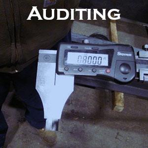 Auditing by QAIS, Inc Ohio